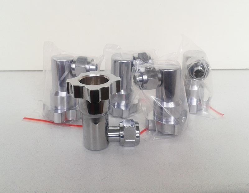 переходник-адаптер для краскопульта с боковым бачком