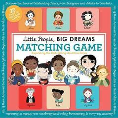 Little People, BIG DREAMS Matching Game : Put Your Brain to the Test with All the Girls of the Little People, BIG DREAMS Series!