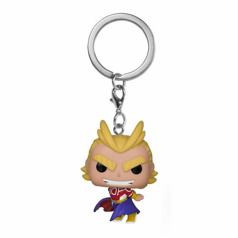 Брелок Funko Pocket POP! Keychain: My Hero Academia: All Might (Silver Age) 43452-PDQ