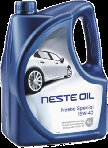 Масло моторное минеральное Neste Special 15W-40 4 л