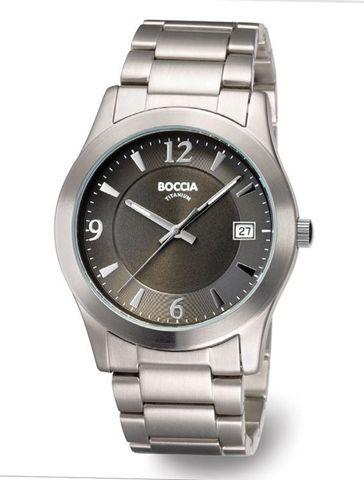 Купить Мужские наручные часы Boccia Titanium 3550-02 по доступной цене
