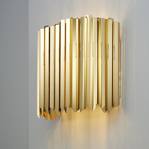 wall lamp  Facet by INNERMOST ( gold )