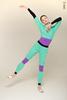 Комплект Кофта + Штаны с фиолетовыми элементами