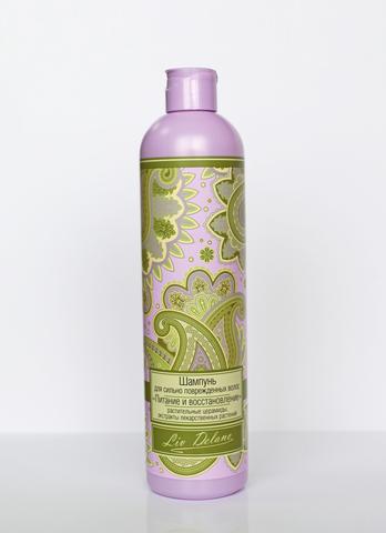 Liv delano Oriental touch Шампунь для сильно повреждённых волос Питание и восстановление 400г