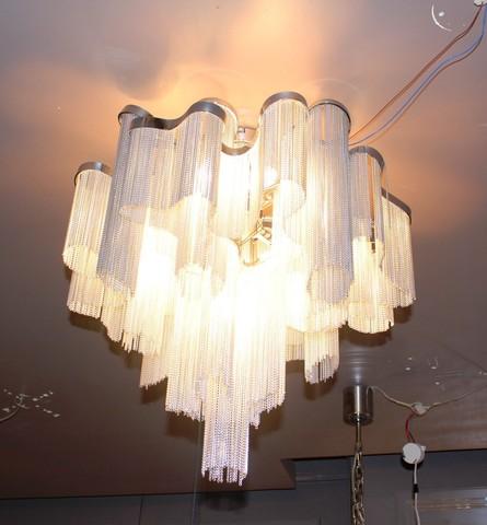 chandelier  Terzani STREAM CEILING ( diam. 80 cm )
