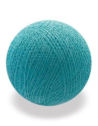 Хлопковый шарик бирюзовый