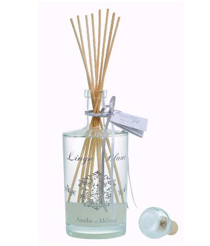 Диффузор-ароматизатор с палочками Белое белье, Amelie et Melanie