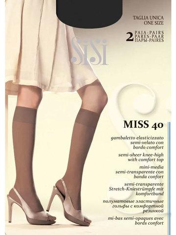 Гольфы Miss 40 (2 пары) Sisi