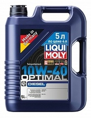 LIQUI MOLY Optimal Diesel 10W-40 «5л по цене 4» Арт.2288