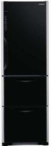 Холодильник с нижней морозильной камерой HITACHI R-SG38 FPU GBK