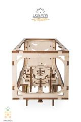 Деревянный конструктор - Ugears. Модель - Прицеп для Тягача Heavy Boy VM-03