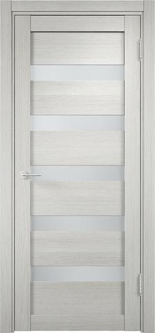 Дверь Eldorf Мюнхен 03, стекло Сатинато, цвет слоновая кость, остекленная