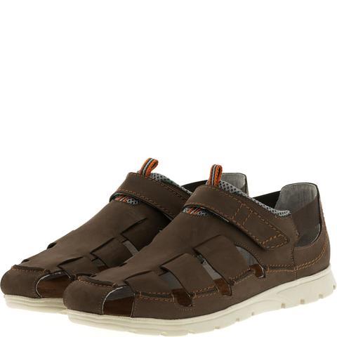 586285 Сандалии мужские коричневые. КупиРазмер — обувь больших размеров марки Делфино