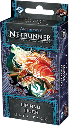 Android Netrunner LCG: Up and Over Data Pack (Lunar Cycle)