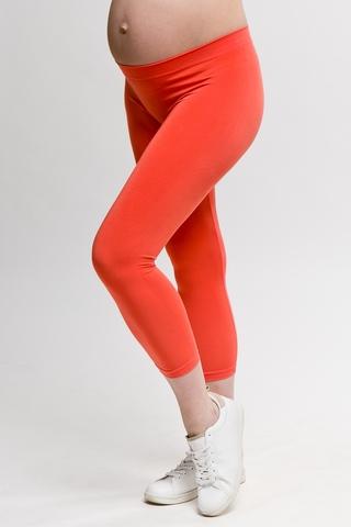 Леггинсы для беременных 07585 оранжевый