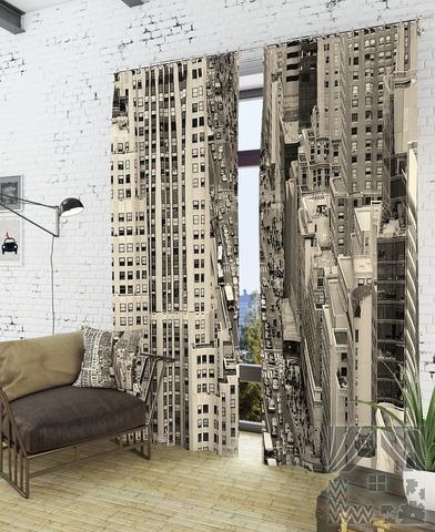 Отражение мегаполиса