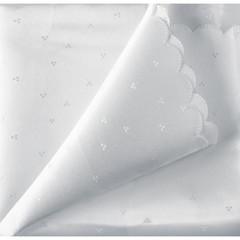 Скатерть п/э с тефл.покрытием Белый снег 150*182 см NEW 65.116