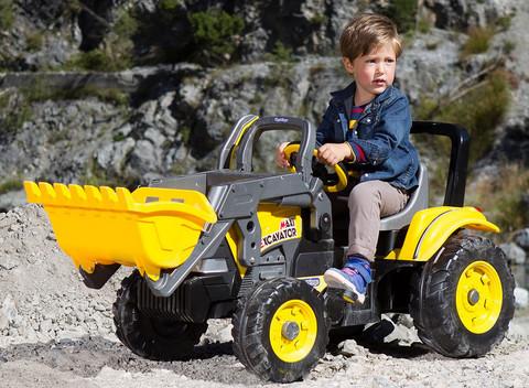 Детский педальный экскаватор Peg Perego Maxi Excavator IGCD0552