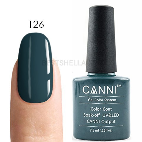 Canni Canni, Гель-лак № 126, 7,3 мл 126.jpg