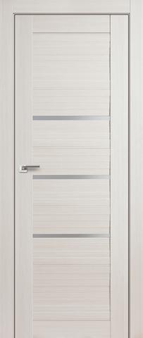 > Экошпон Profil Doors №18X-Модерн, стекло матовое, цвет эш вайт мелинга, остекленная