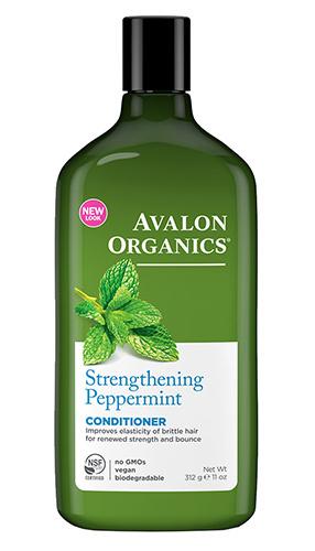 Мятный укрепляющий кондиционер, Avalon Organics