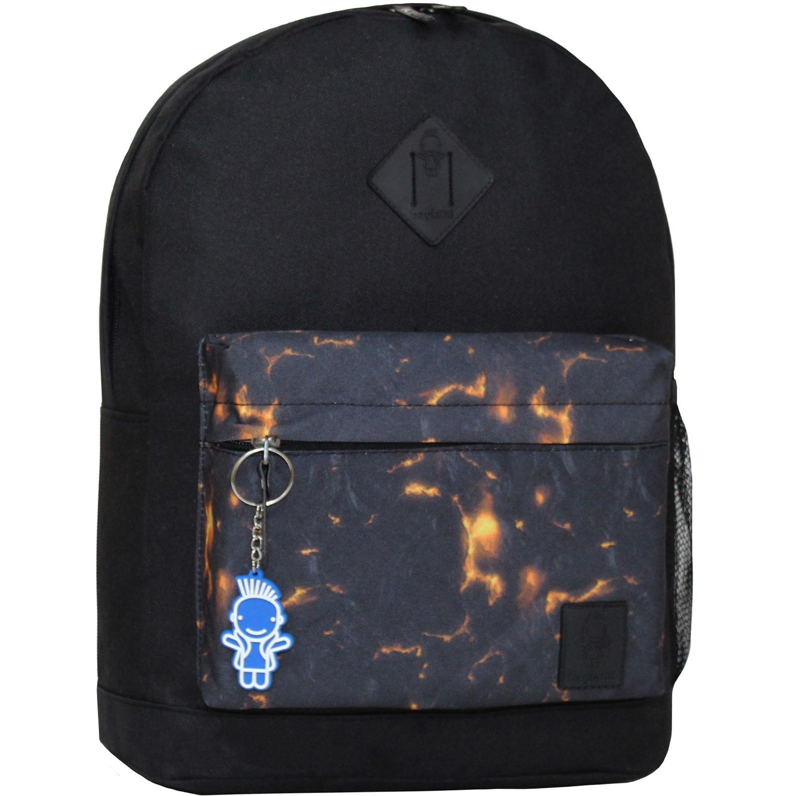 Городские рюкзаки Рюкзак Bagland Молодежный W/R 17 л. чорний 83 (00533662) IMG_5928.JPG