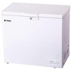 Ларь морозильный 210 л низкотемпературный DELTA D-210НКF, класс A, 2 корзины