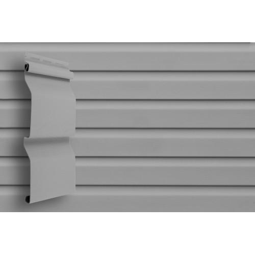 Сайдинг Виниловый Grand Line Slim D4 Серый