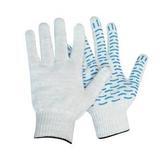 Перчатки трикотажные с покрытием ПВХ Волна 10 кл 5ти нитка (1мешок - 400 пар/ упак 10 пар)