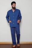 Мужская пижама с жаккардовой выработкой B&B