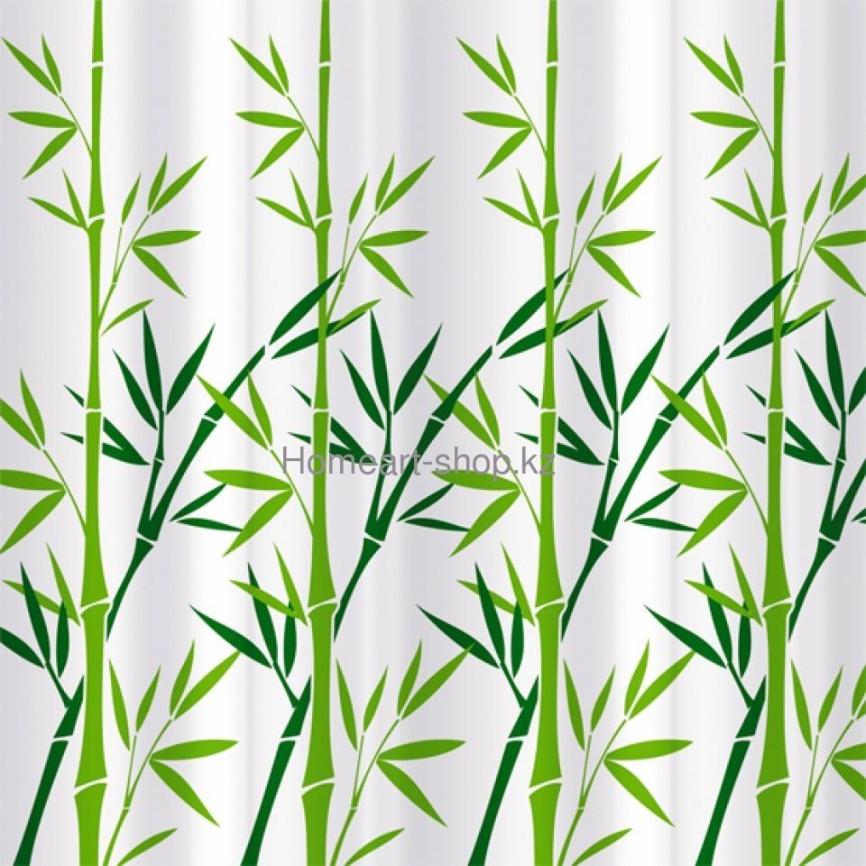 BAMBOO GREEN Штора для ванной комнаты
