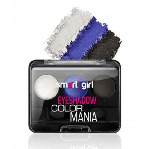 BelorDesign Smart Girl Тени для век 3-х цветные Color Mania тон 33