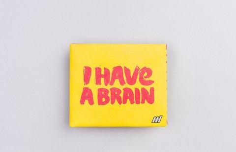 Экологичный бумажник New Brain