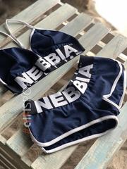 Спортивный топ Nebbia Fitness Bra with hem 267 blue