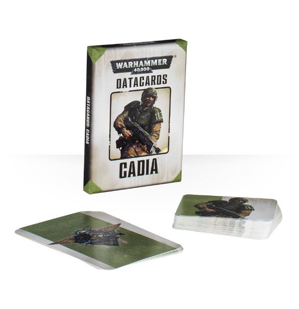 Warhammer 40,000 Datacards: Cadians