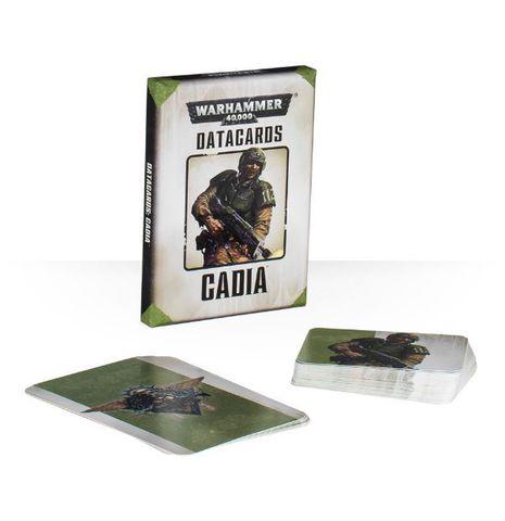 Warhammer 40,000 Datacards: Cadians. Датакарты