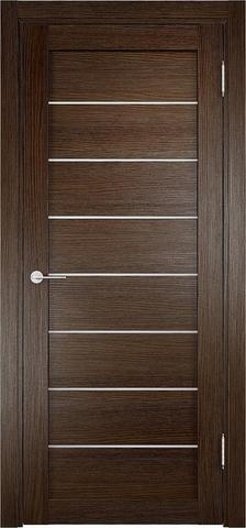 Дверь Eldorf Мюнхен 04, стекло Сатинато, цвет дуб табак, остекленная