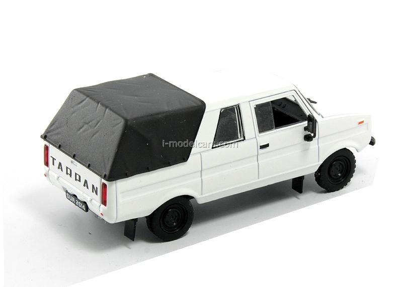 Tarpan 237 white 1:43 DeAgostini Auto Legends USSR #157