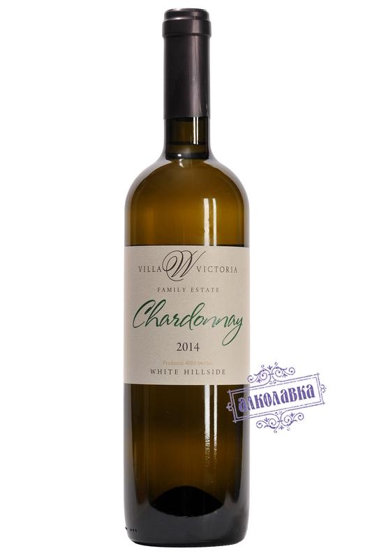 Вино Вилла Виктория,  Шардоне  Резерв белое сухое
