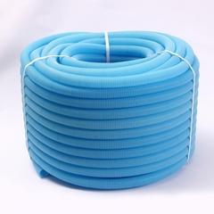 Гофрированная труба Uni-Fitt 34 синяя (для труб 26) 50 м.