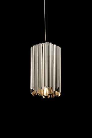 pendant Facet by INNERMOST ( silver )
