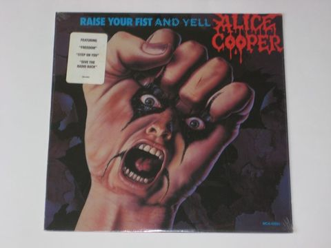 Alice Cooper / Raise Your Fist And Yell (LP)