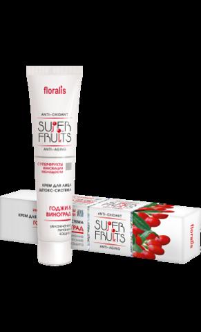 Floralis Superfruits Крем для лица детокс-система «Ягоды годжи и Виноград» 40г