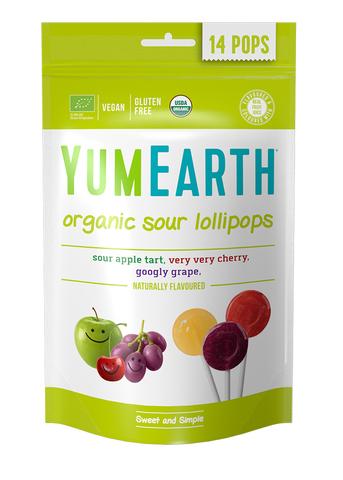 YumEarth органические леденцы на палочке