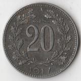 K7360, 1917, Австрия, 20 геллеров