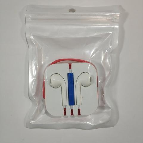 Гарнитура iPhone 5S в пакете (ассорти)