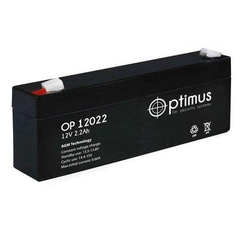 OP 12022 аккумулятор 12В/2,2Ач Optimus