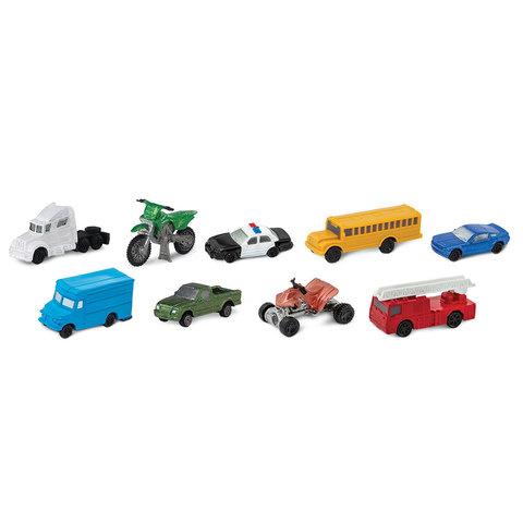 Набор фигурок Транспорт на дороге, Safari Ltd.