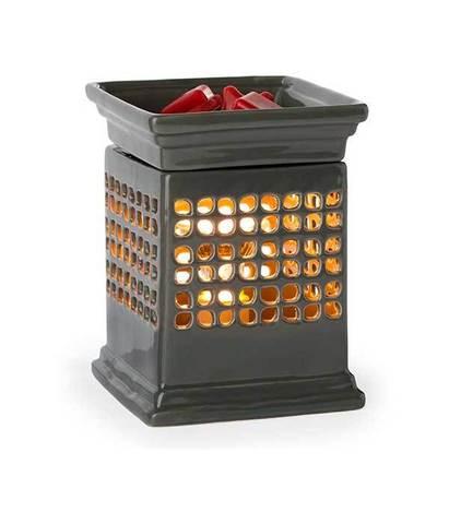 Аромасветильник настольный Куб керамика, Candle Warmers
