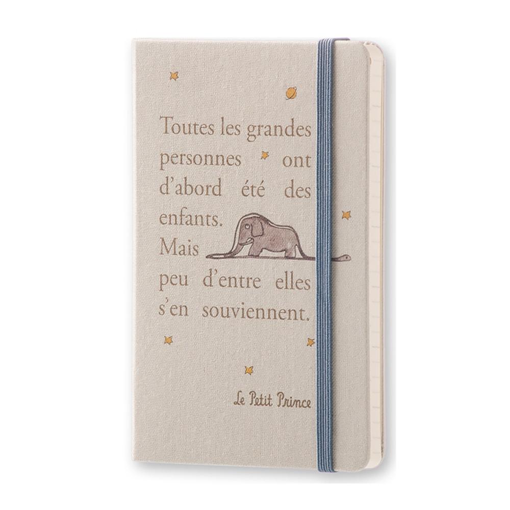 Еженедельник Moleskine Le Petit Prince Wknt PC, цвет серый